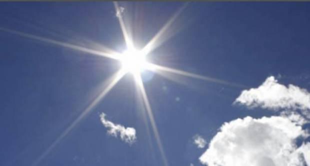 Danas sunčano i vruće. Temperatura do 37 °C.