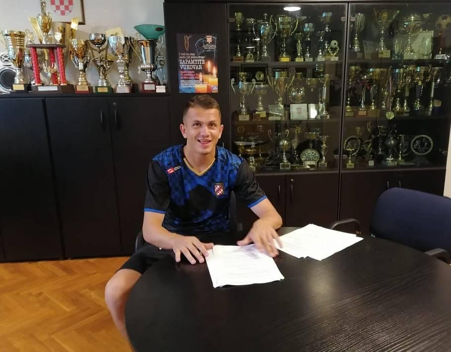 Potpis je 'pao': Tomislav Valentić s Hrvatskim dragovoljcem do ljeta 2022.