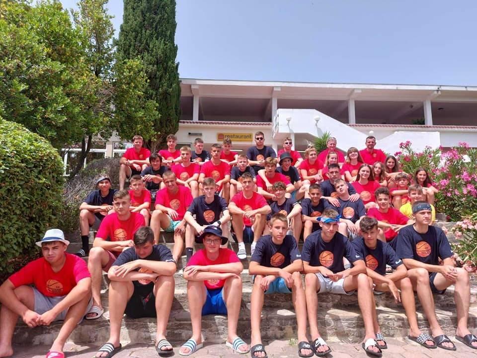 Nakon uspješne sezone, uživancija u Trogiru