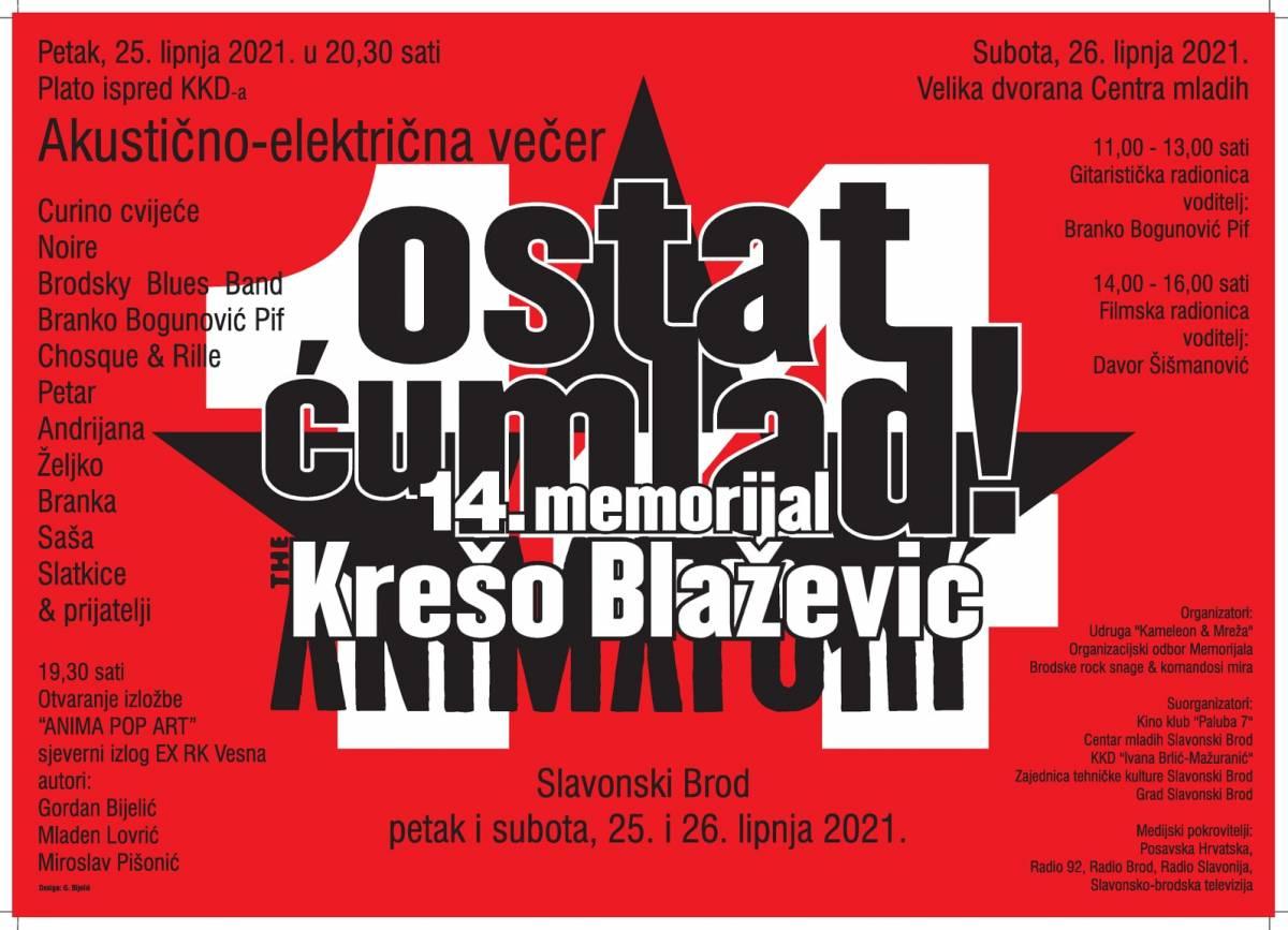 "Posjetite 14. memorijal Krešo Blažević ""Ostat ću mlad"""