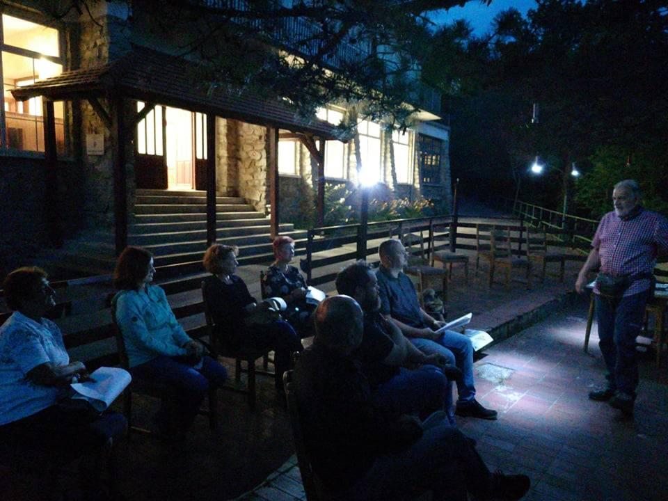 "Interaktivno predavanje o planinarskim obilaznicama na terasi PD ""Lapjak"" u Velikoj"
