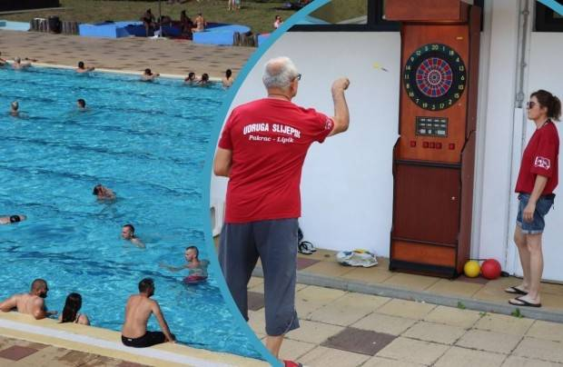 Mini turnir u elektronskom pikadu za slijepe na lipičkim bazenima