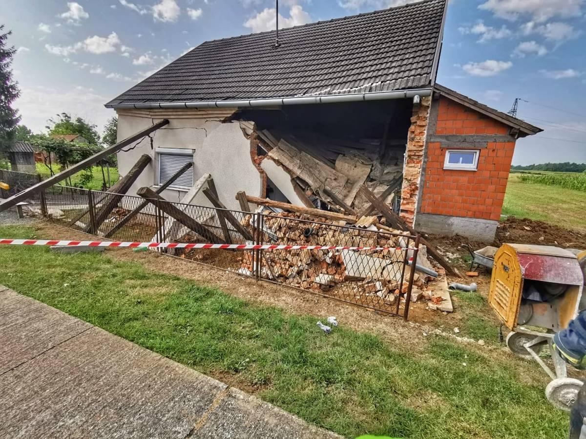 ZAVRŠIO U BOLNICI: Dio kuće se srušio na čovjeka, doznajemo detalje događaja