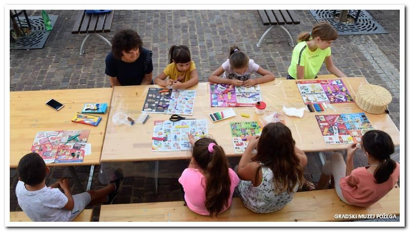 Današnjom radionicom završeno Muzejsko ljeto za djecu
