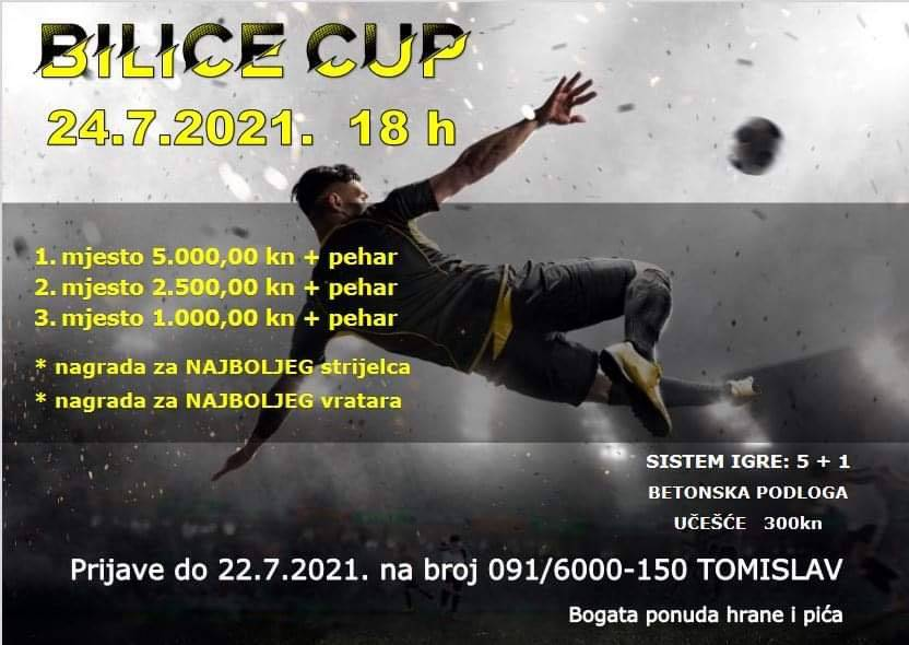 Bilice Cup: Brojne malonogometne ekipe u petak i subotu dolaze u Bilice