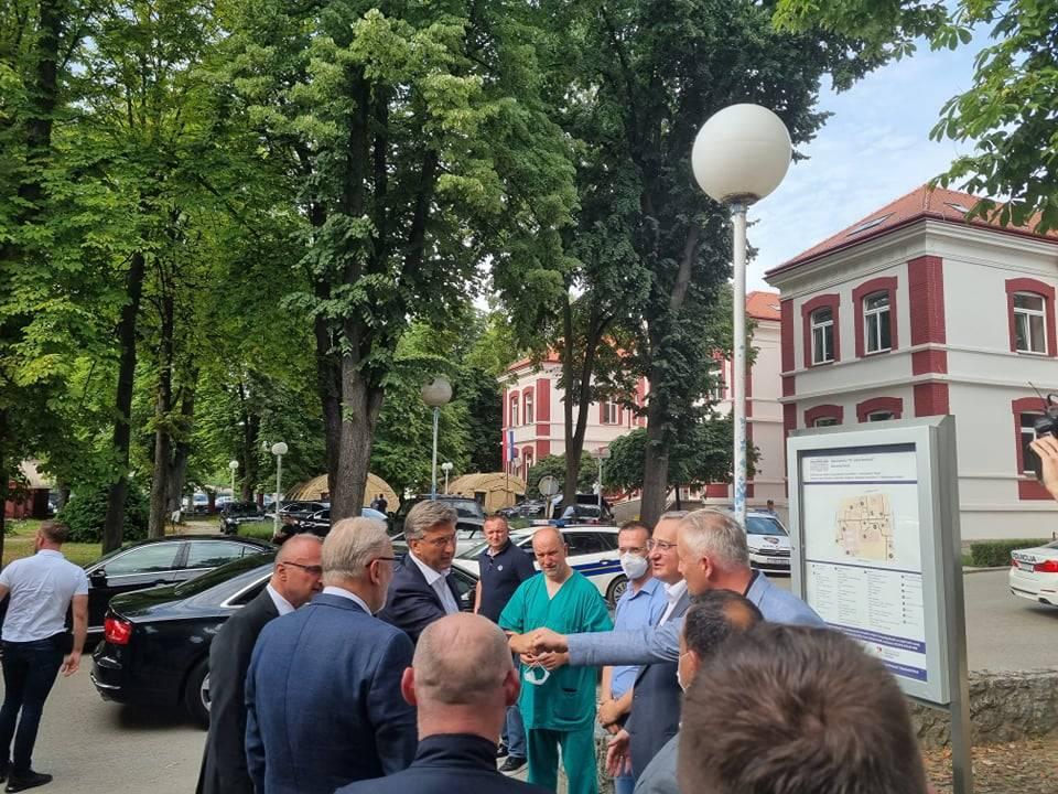 Premijer Plenković: Teška i velika nesreća, kakvu Hrvatska nije imala dugi niz godina