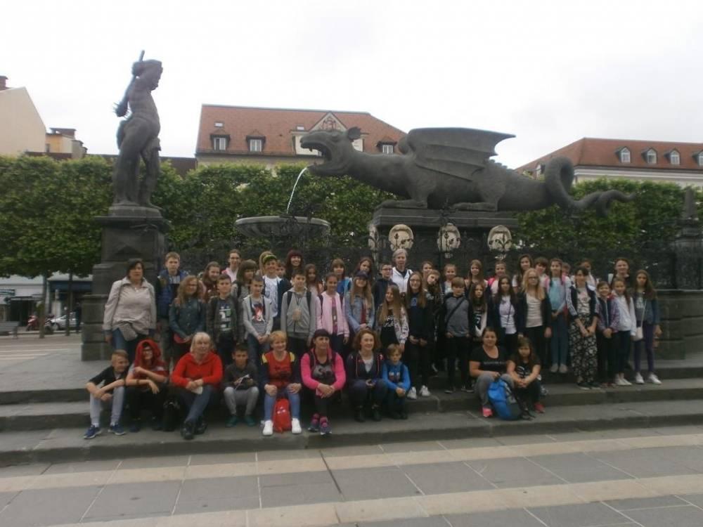 Učenici četvrtih i petih razreda na terenskoj nastavi u Klagenfurtu i Minimundusu