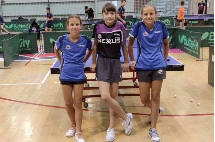 Članovi Stolnoteniskog kluba Požega nastupili na Prvenstvu Hrvatske za najmlađe kadetkinje i kadete u Osijeku