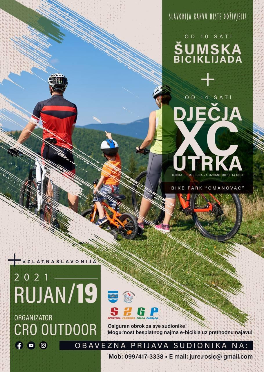 """OVE NEDJELJE OKO OMANOVCA: """"Šumska biciklijada"""" i dječja biciklistička utrka"""