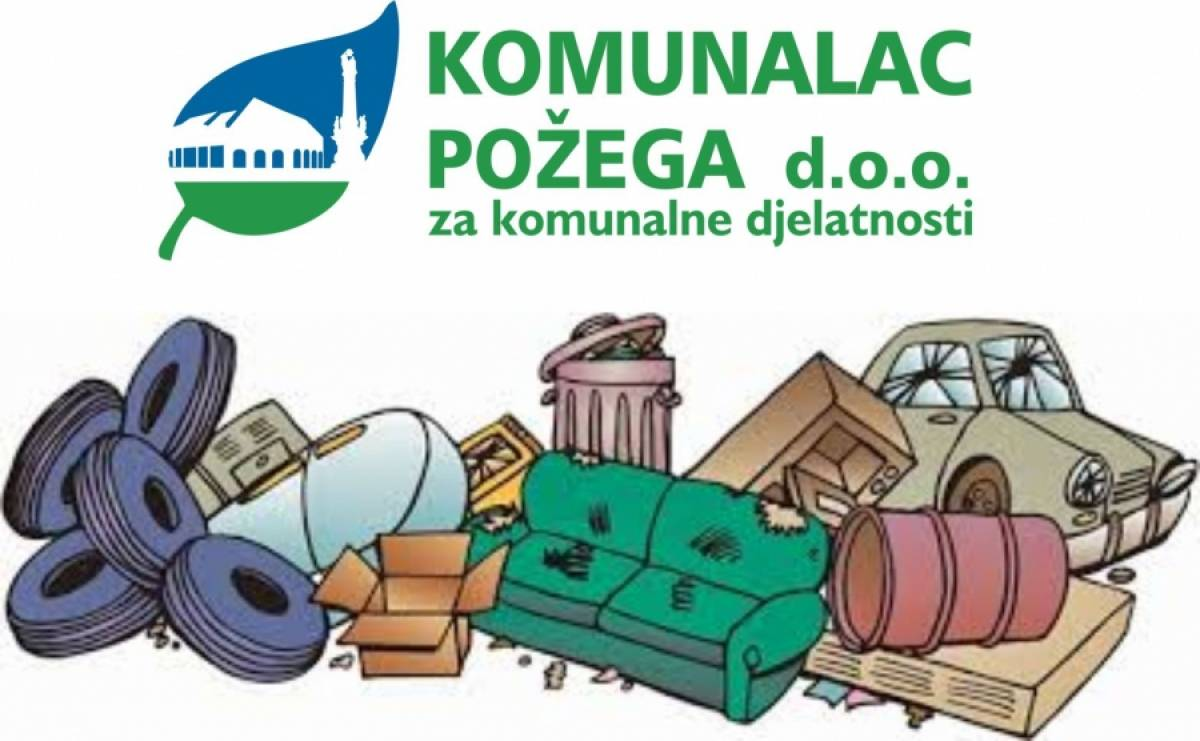 Raspored odvoza krupnog (glomaznog) otpada 25. rujna 2021.
