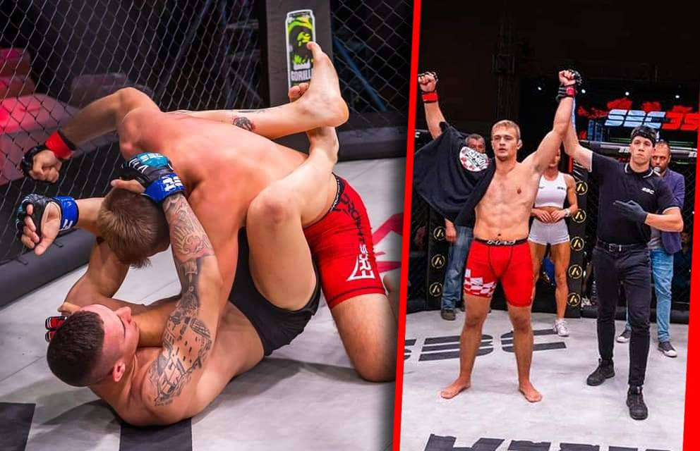 Pakrački MMA borac Leon Krajačić pobjedio na MMA turniru u Somoboru