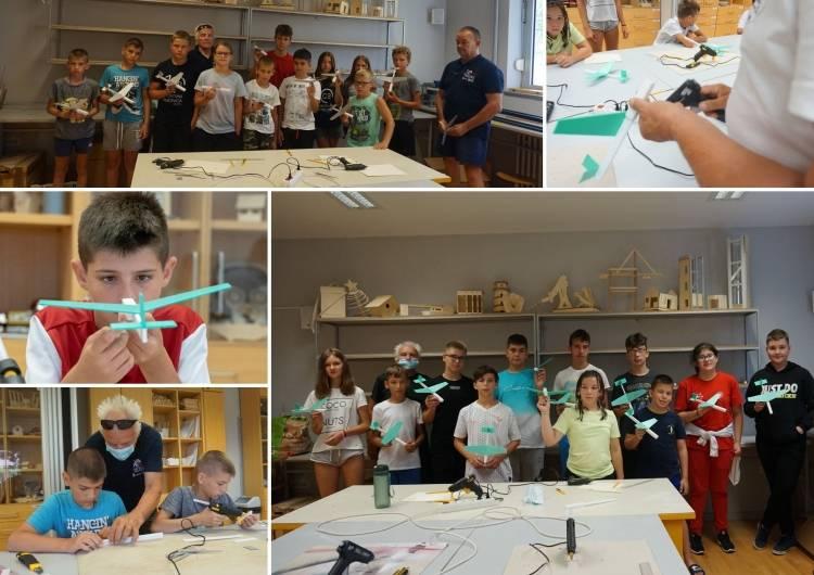 Aeroklub Požega u 2021. godini organizirao brojne aktivnosti i čak pet kampova za učenike osnovnih i srednjih škola