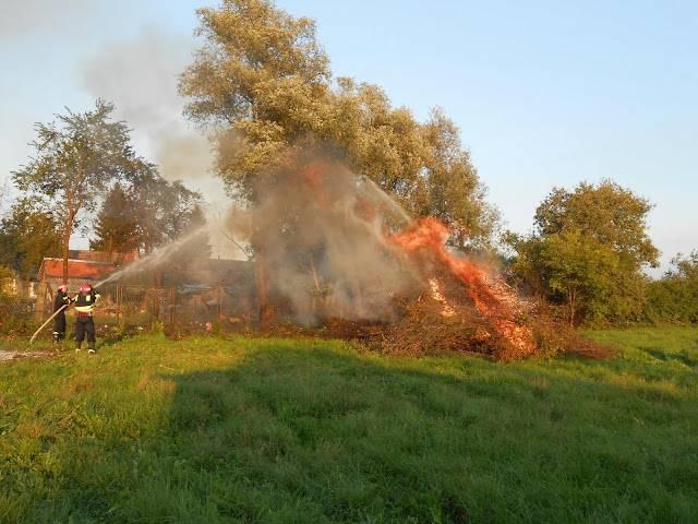 U Požegi spaljivao grane pa izazvao požar
