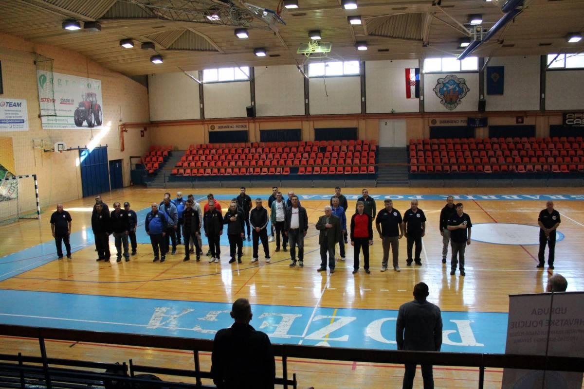 UDRUGA HRVATSKE POLICIJE: Otvorene Sportske igre za poginule hrvatske policajce u Domovinskom ratu