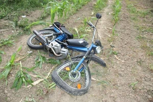 U Lipiku prometna između automobila i mopeda, jedna osoba ozlijeđena