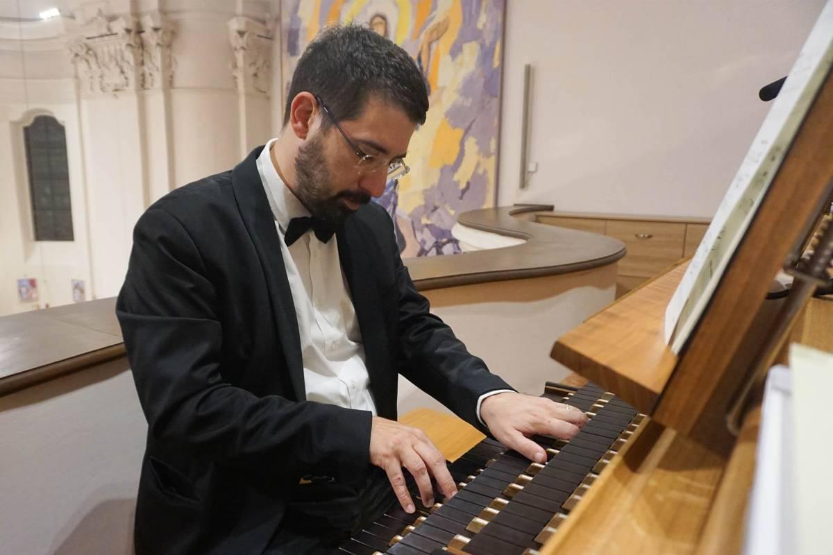 Otvorenje orguljaških večeri u Katedrali u Požegi