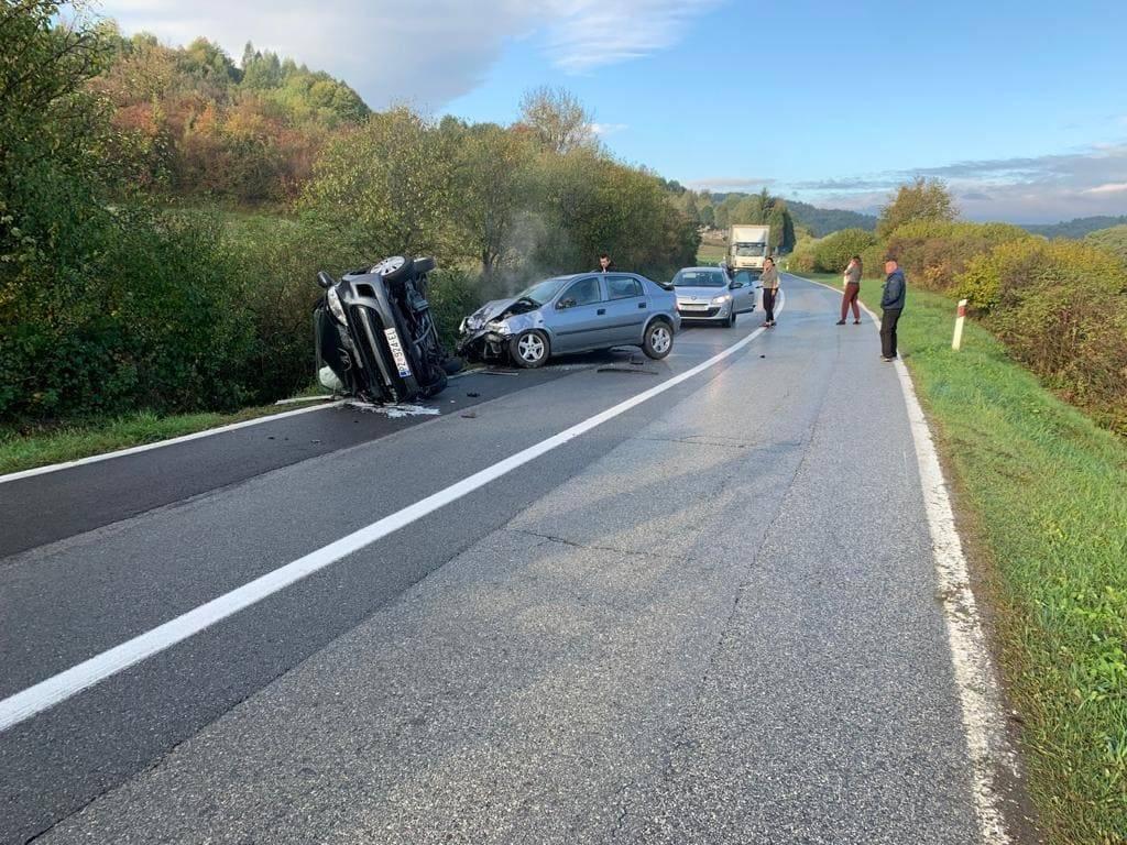 Teška prometna nesreća kod Oblakovca