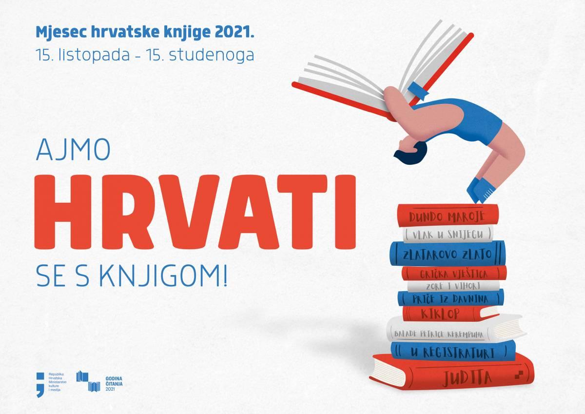Svečano otvorenje Mjeseca hrvatske knjige 2021. u Gradskoj knjižnici Požega