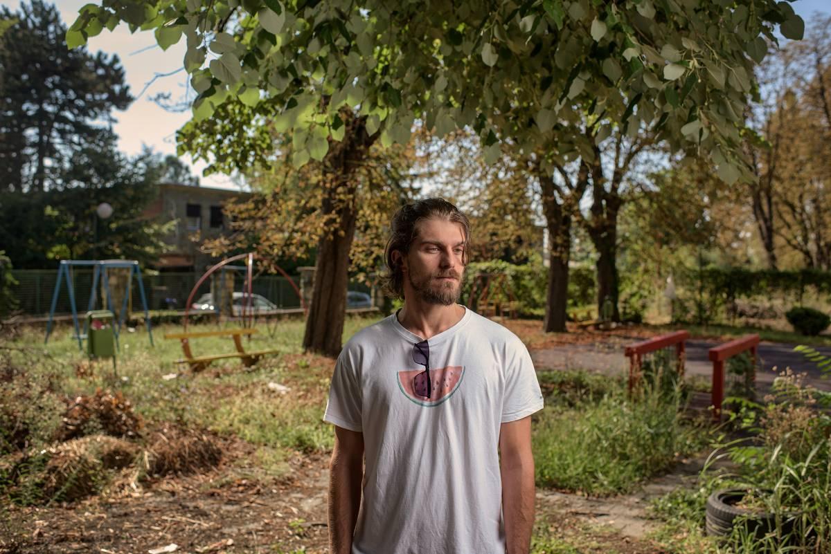Požežanin Luka B.(33): Godinama sam bio skvoter, živio sam u napuštenoj zgradi u Zagrebu. Danas završavam Medicinu