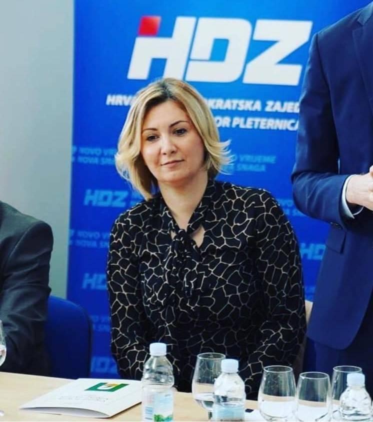 Antonija Jozić nova čelnica požeško-slavonskog HDZ-a: 'Zahvaljujem se svima na ukazanom povjerenju'