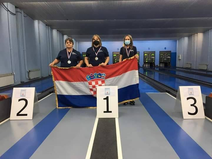 Željka Peška osvojila četiri medalje na europskom prvenstvu za slijepe i slabovidne u Koprivnici