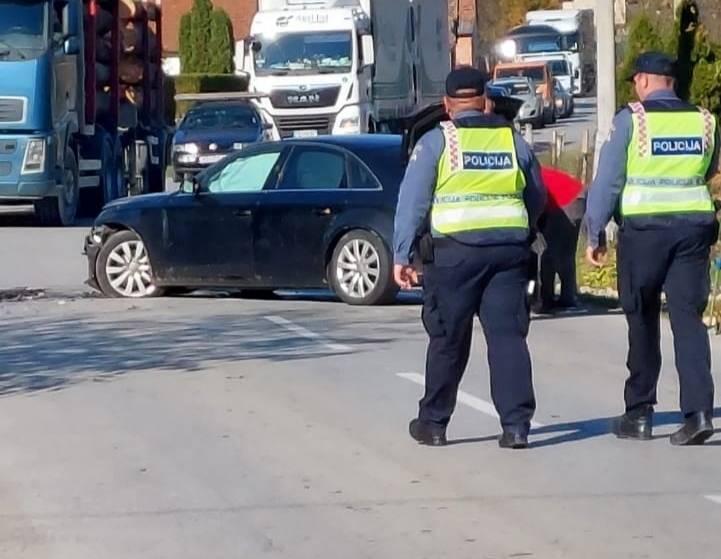 Prometna nesreća u Novim Mihaljevcima, dvije osobe prevezene u OŽB Požega