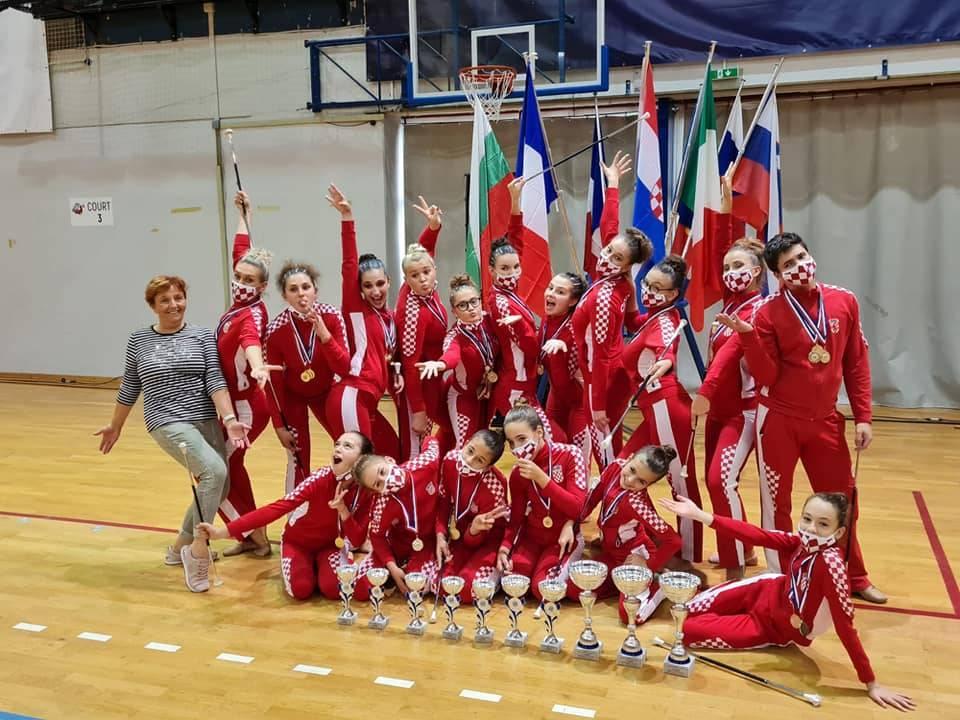 Požeške mažoretkinje i Twirling klub Požega odlični na Europskom prvenstvu u Poreču