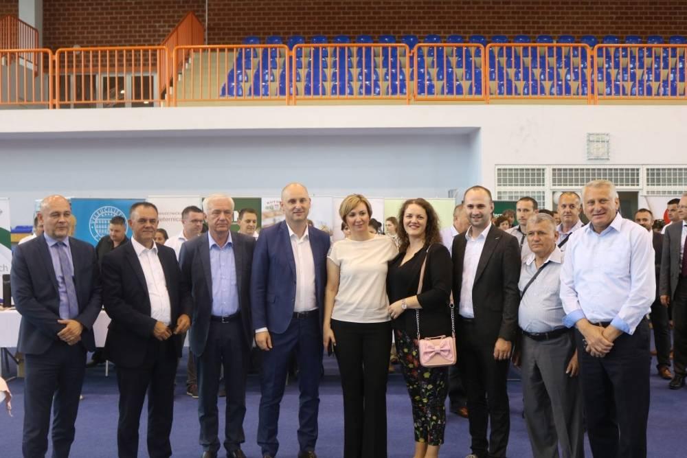 Radni ručak s ministrom Tolušićem u Pleternici
