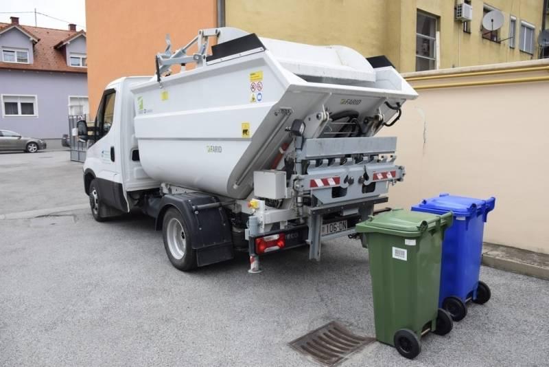 Raspored odvoza miješanog komunalnog otpada u dane blagdana