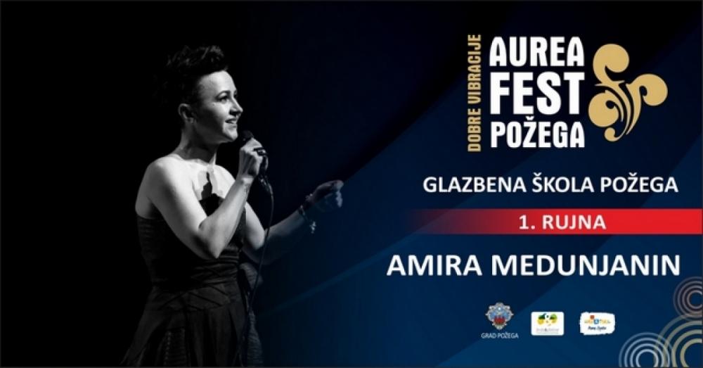 AUREA FEST 2018. - Koncert Amire Medunjanin