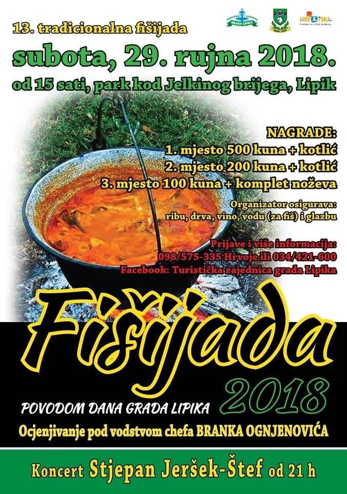 13. tradicionalna Fišijada u Lipiku