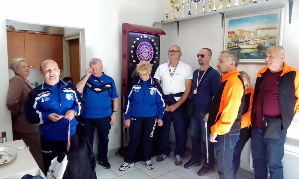 Udruga slijepih Pakrac-Lipik: Prva mjesta na bjelovarskom turniru u pikadu