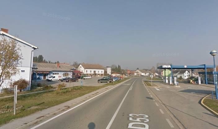 Državna cesta D-53 u Čaglinu zatvorena za promet do 15.12.