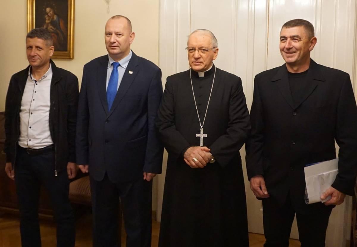 Biskup Škvorčević primio pomoćnika ministra hrvatskih branitelja