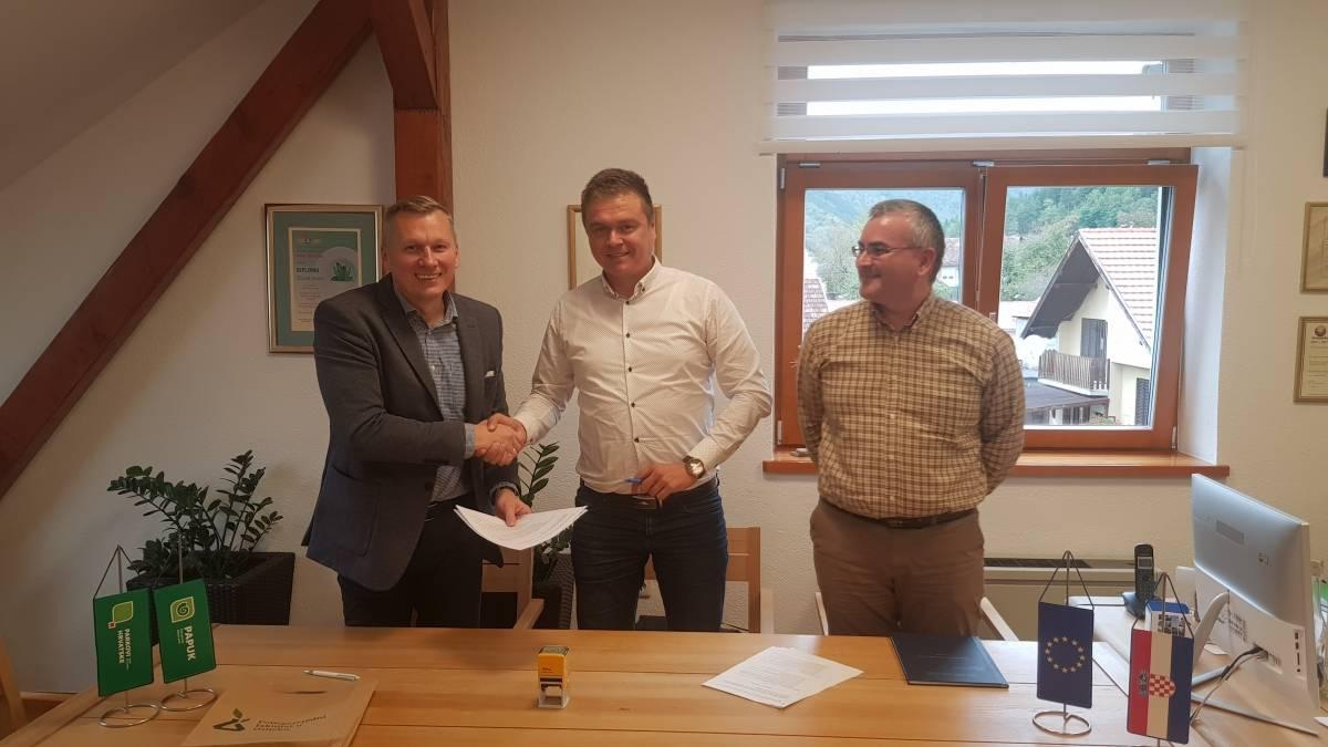 Potpisan Sporazum o suradnji između PP Papuk i Sveučilišta Josipa Jurja Strossmayera u Osijeku