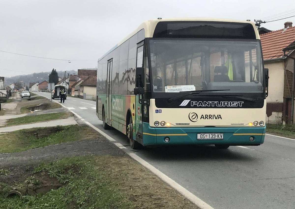 U naletu autobusa lakše ozlijeđena 76-godišnja pješakinja u Vidovcima