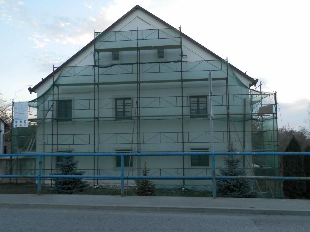 Obnova župnog stana u Kaptolu