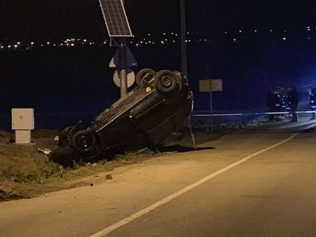 Na izlazu iz Alilovaca autom izletio s kolnika, zabio se u most i prevrnuo na krov