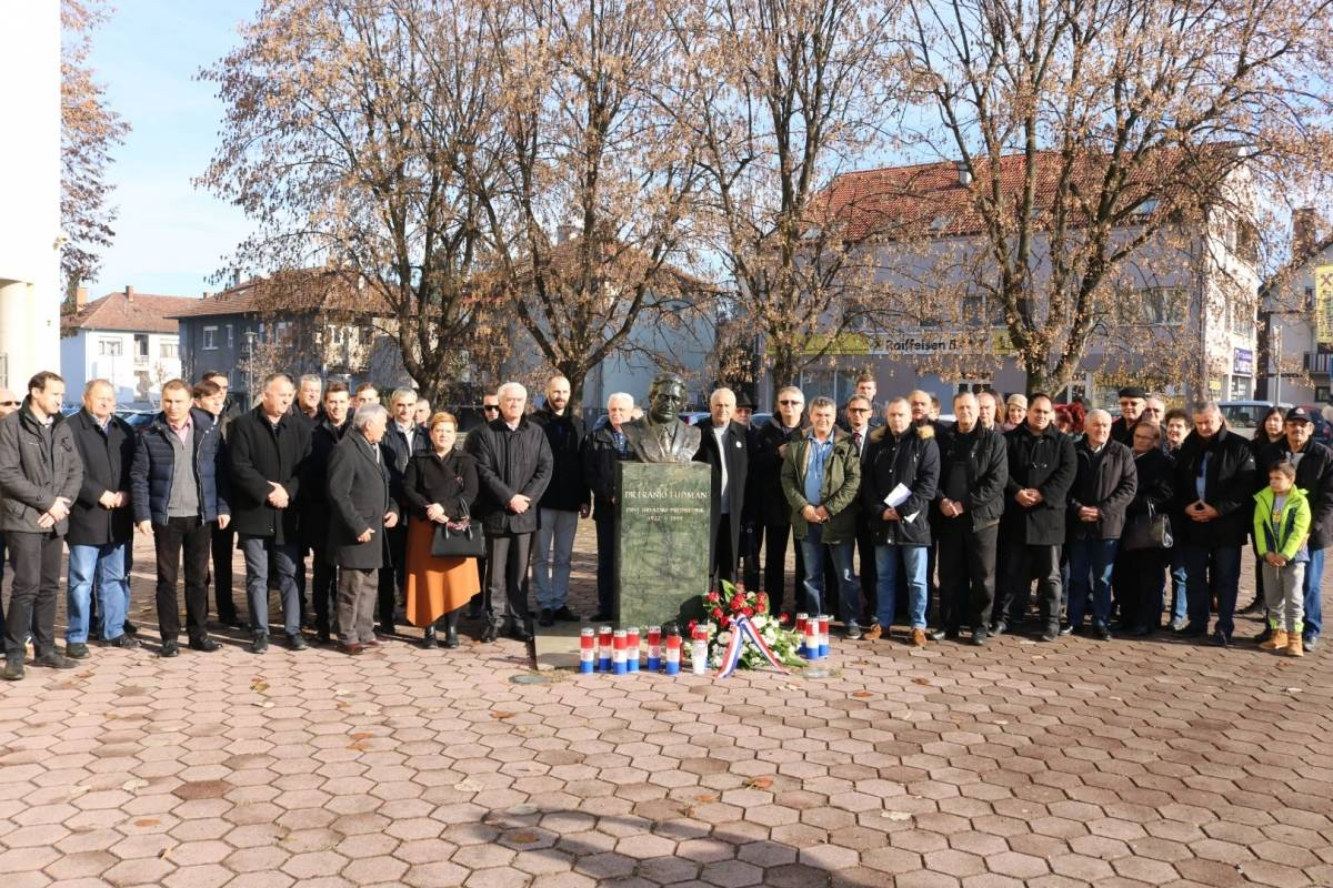 HDZ Požeško slavonske županije obilježio 19. godišnjicu smrti dr. Franje Tuđmana
