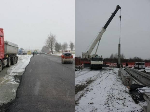 Asfaltirano parkiralište kod groblja; postavljanje betonske konstrukcije Poduzetničkog inkubatora