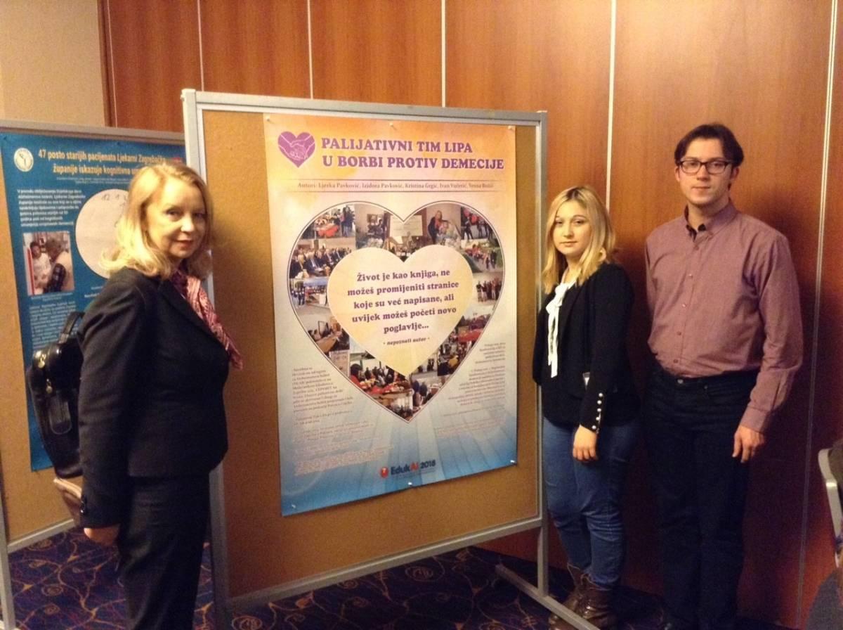 """Palijativni tim """"LiPa"""" iz Lipika na IV. edukativnoj konferenciji o Alzheimerovoj bolesti u Zagrebu"""