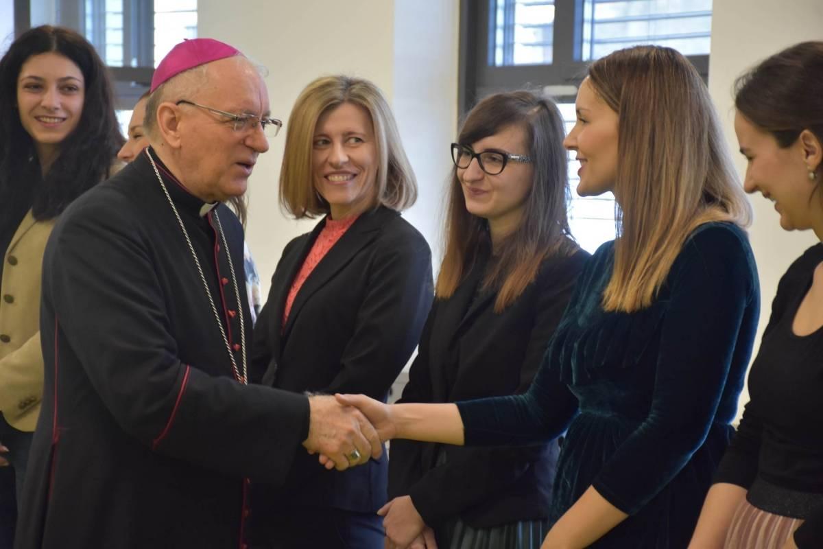 Božićni susret djelatnika katoličkih škola Požeške biskupije