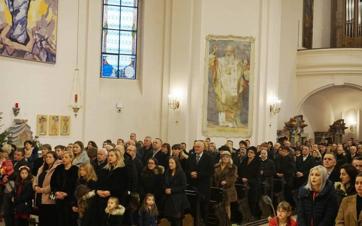 Svetkovina Božića u požeškoj Katedrali