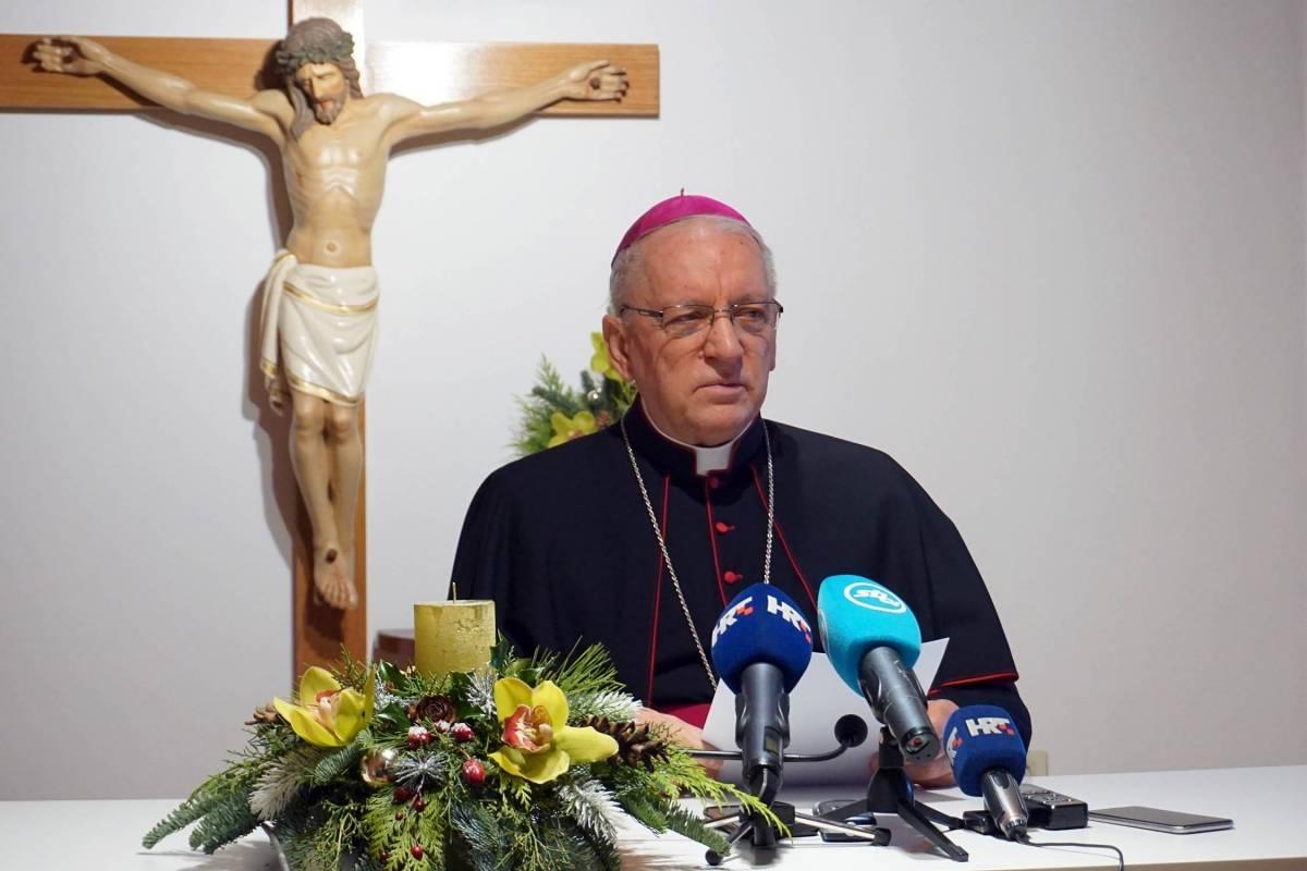 Božićne čestitke biskupa Škvorčevića pravoslavnima