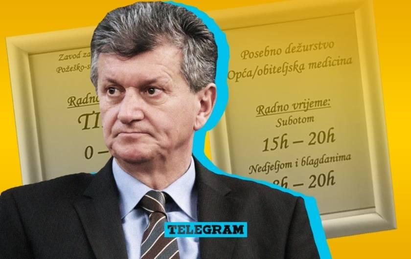 Ministrov novi zakon super funkcionira: u Požegi se Dom zdravlja naprosto oglušio i zatvorio za blagdane