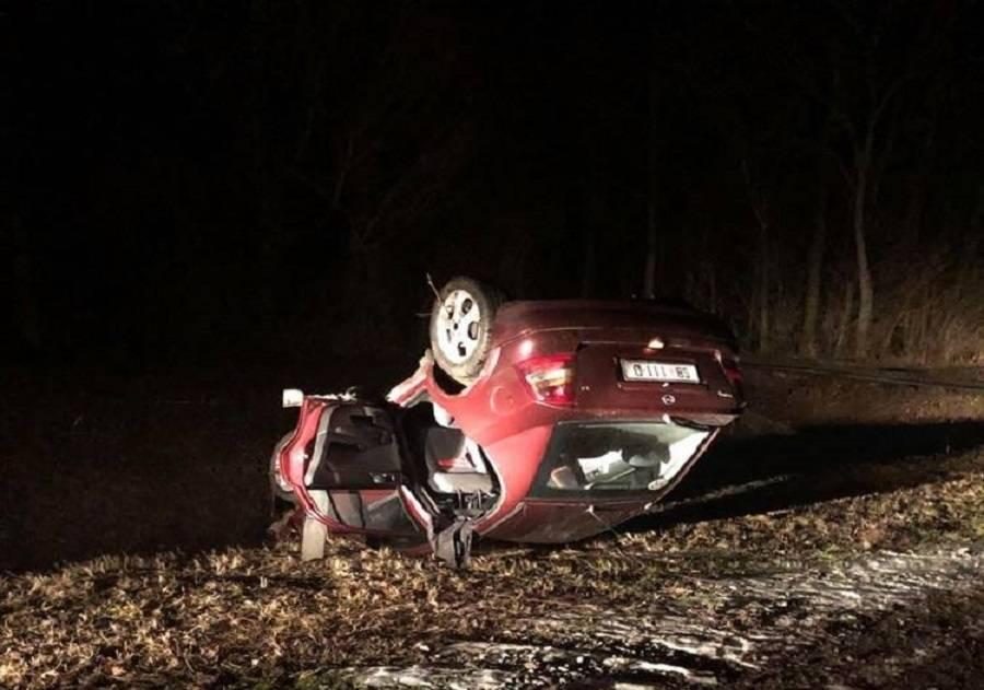 Prometna nesreća - Sletio u kanal izvukao vozilo i udaljio se...