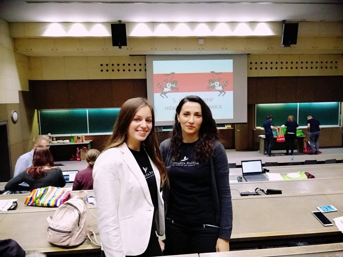 Požeška učenica Dora Špoler putuje na natjecanje u Bjelorusiju