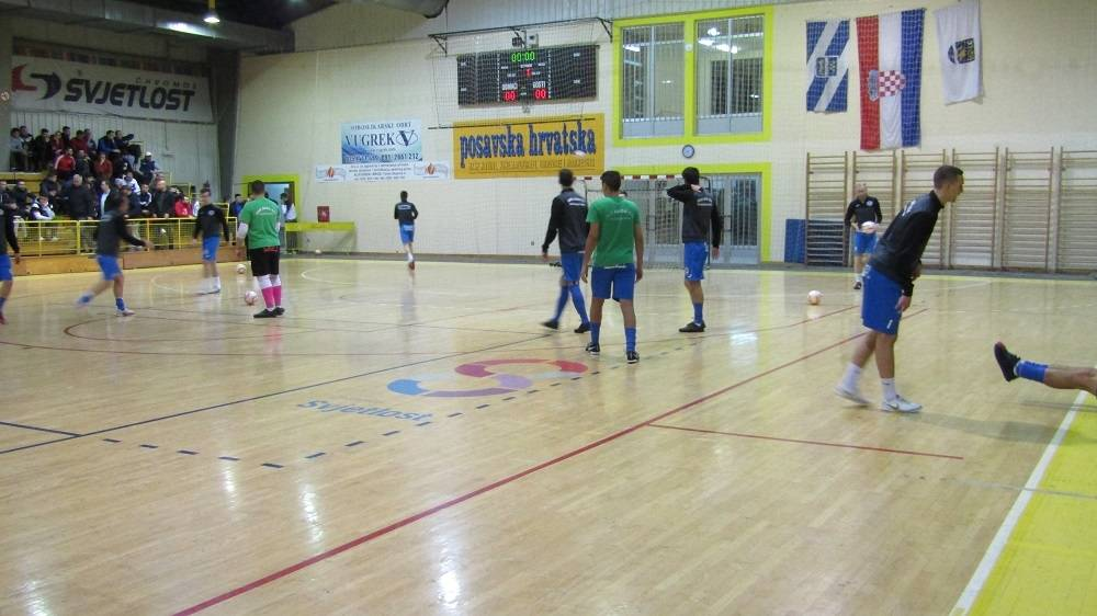 Futsal spektakl u Slavonskom Brod