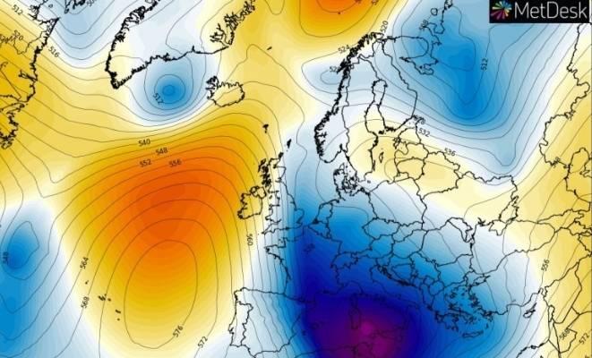 Polarni vorteks donosi mećave i masu ledenog zraka nad Mediteran i Balkan, evo što čeka Hrvatsku