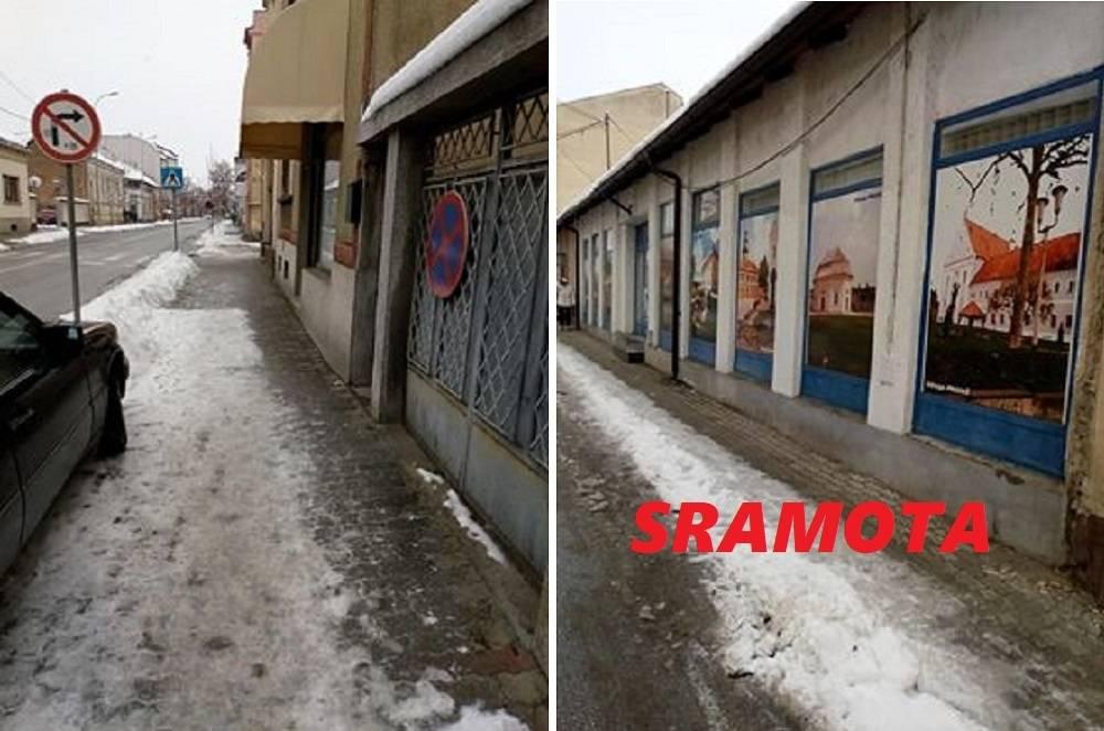 Duspara, je li tvoja stranka dobila Upozorenje za neočišćeni snijeg? Građani koji jesu očistili snijeg su dobili Upozorenja i prijetnje! Sramota!!!